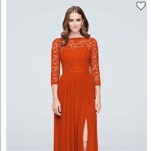 Lace formal dress